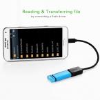 Ugreen Micro USB OTG Кабель-Адаптер 90 градусов для HTC LG Sony Xiaomi Meizu Nokia N810 Nexus 7 Android мобильного телефона Таблетки MP3