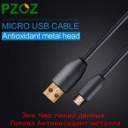 PZOZ Кабель Micro Usb Быстрая Зарядка Провод USB Кабель Зарядки Шнур для Samsung Xiaomi Huawei MEIZU Oneplus ZTE Umi Рим Х Microusb