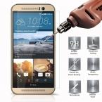 0.3 мм Закаленное Стекло для HTC New One M8 2.5D Круглый Пограничной высокий Прозрачный Экран Протектор Фильм для HTC M8 с Чистые Инструменты