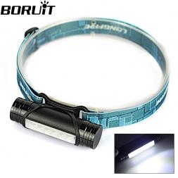 Мини 400LM аккумуляторная из светодиодов фар 3 режим фары фонарик фонарик   USB кабель / встроенный 2200 мАч аккумулятор