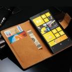 Чехол Nokia Lumia 920 натуральная кожа, винтажный для бумажник стиль телефон мешок с стойка 2 карта держатели 1 законопроект сайт прямая поставка