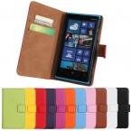 Для Nokia Lumia 920 кожа, роскошь книга стиль бумажник чехол телефон чехол с карта держатель