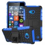 Для Nokia Lumia 640 чехол тяжелых броня подставка противоударно Hybird жесткий мягкий кремния прочная резиновая чехол N640 крышка <