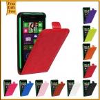 Роскошный кожаный чехол для Nokia Lumia 630 мода пу вертикальный флип чехол для Nokia Lumia 630 635 N630 N635 телефон сумки оболочки