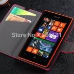 Бумажник Флип Кожаный Чехол для Nokia Lumia 520 Бизнес-Телефон чехол для Microsoft Lumia 520 5 Цветов Обложка с Карты слот