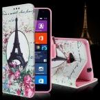 Для Microsoft Lumia 535 чехол мультфильм держателя карты кожаный бумажник флип-крышкой чехол для Microsoft Lumia 535 внутренний тпу чехол