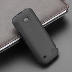 Чехол для Nokia C5 C5-00, гибкий черный тпу матирование силикон гель кожи чехол