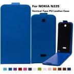 """14 Цветов На Складе Сумки Деловой Стиль Флип PU Кожаный Чехол Для Microsoft Nokia 225 N225 2.8 """"Крышка телефона С Вертикальным Магнитным"""