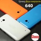 Для Lumia 640 Case Fundas Оригинальные Двери Батареи для Дома Задняя Крышка для Microsoft lumia 640 Глянцевым Корпусом Замена Hoesjes Капа