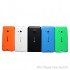 Телефон жилье для Nokia Microsoft Lumia 535 крышка батарейного отсека корпуса сзади дома с логотипом   боковые кнопки оригинальное качество