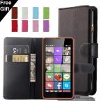 Роскошный Кошелек PU Кожаный Чехол Для Nokia Lumia Microsoft Lumia 430 435 520 530 535 550 620 625 630 640 650 730 Крышка Отсека для Карты держатель