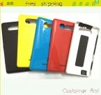 Замена оригинал новая батарея задняя крышка чехол для Nokia Lumia 820 корпуса двери   боковые кнопки ключ   логотип