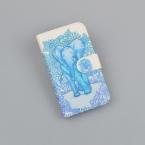 Чехол Для Nokia X2 RM-1013 nokia X2DS Обложка Мода флип PU Кожаный Бумажник Телефон Случаях с Держателем Карты Двойной SIM