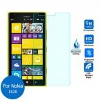 Высокое качество 0.3 мм закаленное стекло пленка для Nokia Lumia 1520 9 H жесткий 2.5D кривый край тонкий экран Protecter
