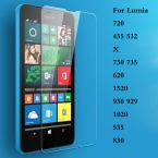 Ясно Закаленное Стекло Для Microsoft Nokia Lumia 720 532 435X730 735 620 1520 930 929 1020 535 830 Премиум Протектор Фильм