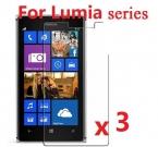 Высокая ясный протектор защитная пленка для Nokia Lumia 930 929 640 630 535 1020 1520 3 шт./лот