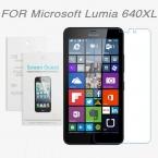 Для Microsoft Lumia 640XL,   бесплатная доставка 3x ясная Пленка Протектора Экрана Для Microsoft Lumia 640 XL   ткань Для Очистки