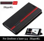 поступление флип кожаный чехол для Asus ZenFone 2 лазерная ZE550KL ZE551KL 5.5 дюймов задняя крышка чехол   подарок бесплатная