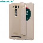 Для Asus Zenfone 2 лазерная ZE500KL ZE500KG 5 '' кожаный чехол в исходном NILLKIN качество PC задняя крышка флип сна / услуга чехол