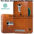 Nillkin Подлинная Кошелек Кожаный Чехол обложка Для Asus Zenfone Селфи ZD551KL 5.5 fundas сумки случаи   HD/Стеклянный экран протекторы