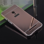 Zenfone 5 чехол металлического алюминия бампер кадров зеркало покрытие трудно для Asus Zenfone 5 A501CG