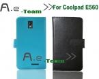 Горячая Aierwill -  новый для Coolpad E560 кожаный чехол, 5 цветов кожаный чехол эксклюзивный для Coolpad E560 смартфон