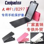 100 percent  искусственная кожа флип чехол для Coolpad f1, Для Coolpad 8297 натуральная откидная крышка с подставкой и держателя карты