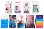Мода мультфильм живопись искусственная кожа стенд бумажник раскладной телефон для Coolpad порту S чехол