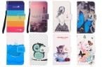 Мультфильм живопись кошелек стиль защитный чехол для Coolpad порту с мобильного телефона чехол с картой-слотов   шнурки подарков
