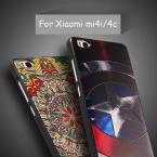 Для Xiaomi Mi 4i тонкий мягкие TPU силиконовые 3d-картина мультфильм барельеф мобильный телефон чехол для Xiaomi Mi4i 4c чехол оболочки