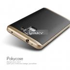 Для Huawei Honor 7 Дело в Исходном IPAKY Чехол Для Телефона PC Рамка и роскошный Двойной Гибридный Силиконовый чехол Для Huawei Случае G8 Honor7 5.2 inch