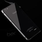 Роскошные Huawei Honor 4C Случае Алюминиевая Рама   PC   Toughed Стекло Задней Стороны Обложки Батареи Замена Для Huawei 4C Случае