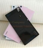 100 percent  оригинал задняя крышка батарейного отсека для HuaWei Ascend P7 заднее стекло P7 сзади батарейного отсека крышка корпуса с NFC   стикер