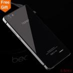 Честь 4c случае Honor4C Горячие продажи Металла Алюминиевая Рама   Закаленное стекло Задней Стороны Обложки Для Huawei Honor 4C Телефон Batterr Крышка