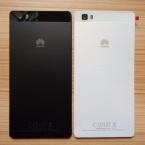 Для Fundas Huawei P8 Lite Оригинальная Крышка Батареи Назад Для Huawei P8 Lite Задняя крышка Батарейного Отсека для дома   Стеклянный Объектив Камеры случае