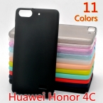 Мягкий Чехол для ТПУ Huawei Honor 4C Ultra Slim Fit 0.5 мм Прозрачный или Матовый Кремния Задняя Крышка для Huawei Honor 4C