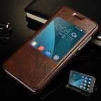 Высокое качество роскошные искусственная кожа откидная крышка подставка чехол для мобильного телефона Huawei честь 4X чехол и вид из окна