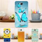Новые Поступления Жесткий Пластик Мода Чехол Для Huawei 4C Pro Ультра тонкий Цветок Башня Шаблон Shell Обложка для Huawei Honor 4C Pro