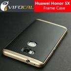 Huawei Honor 5X Тпу Кремния Hybrid   PC Двойной Слой рамка Задняя Крышка Защитный Чехол Для Huawei Honor 5X Мобильный Телефон
