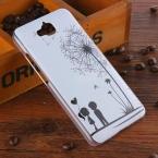 Горячие Продажи Пластиковый Корпус для Huawei Honor 4C Pro Задняя Крышка для Huawei Honor 4C Pro Одуванчик Мультфильм Pattern Случаи Мобильного Телефона