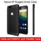 Huawei Nexus 6 P оригинальный Spigen прочная броня чехол мягкие TPU выдерживает падение с высоты задняя крышка чехол для Google Nexus 6 P