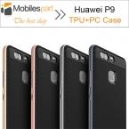 Huawei P9 100 percent   Высокое Качество PC   TPU Случай с кадр Силиконовый Чехол Задняя Крышка для Huawei P9 Смартфон Бесплатно доставка