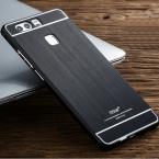 """MSVII Бренд Для Huawei P9 Металлический Корпус Матовый PC Задняя Крышка и алюминиевая Рама Телефон Сумка Чехлы Для Huawei Ascend P9 5.2"""""""