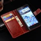 Ретро-моды делюкс кожаный чехол для Lenovo P780 кошелек стиль телефон сумка флип стенд с карт памяти черный коричневый прямая поставка