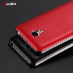 прибытие 7 Цвет, Высокое Качество Роскошные кожаные Задняя крышка Для meizu m2 note case with electroplate рамка ПК