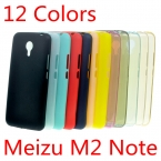 Meizu M2 Note 5.5 Дюймов Дело Ultra Slim Fit 0.5 мм Мягкий прозрачный и Матовый Тпу Телефон Обложка для Meizu M2 Note
