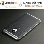 Meizu M3 Note Случае  Стиль Высокое Качество PC   TPU Случай с рамка противоударный Задняя крышка для Meizu M3 Note 5.5 дюймов Телефон