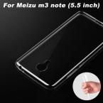 Meizu m3 note Чехол 0.6 мм Ультратонкий Прозрачный ТПУ Мягкая Обложка Телефон Чехол Для Meizu m3 note Обложка Чехол (5.5 дюймов)