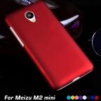 Роскошный оригинальный ультратонких матовый матовый пластик жесткий сотовый телефон чехол для Meizu м2 мини чехол 5.0 задняя крышка