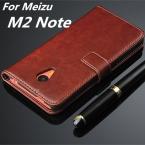 """Fundas MEIZU M2 Note Высокое Качество Флип Дело Чехол Магнитный PU Кожаный Чехол Для MEIZU M2 Note M571 5.5 """"телефон Shell Капа"""